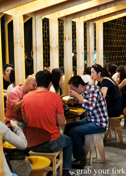 Diners at Two Sticks Yunnan China, Sydney