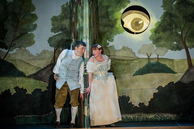 Jane Harrington as Galatea and Oliver Mercer as Acis in Acis & Galatea ©  Robert Workman, MWO/RWCMD