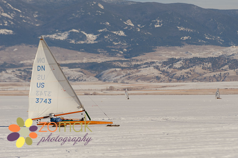 Canyon Ferry Ice Boating