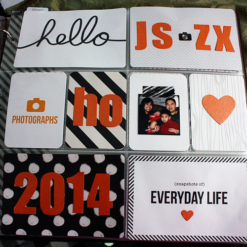 Project Life 2014 Title Page