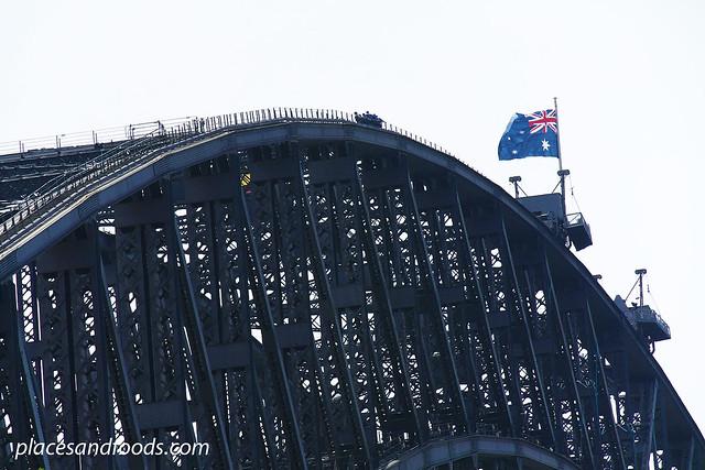 sydney harbour bridge top of arch