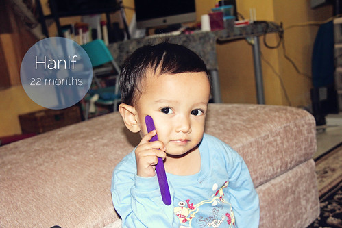 Hanif-22months