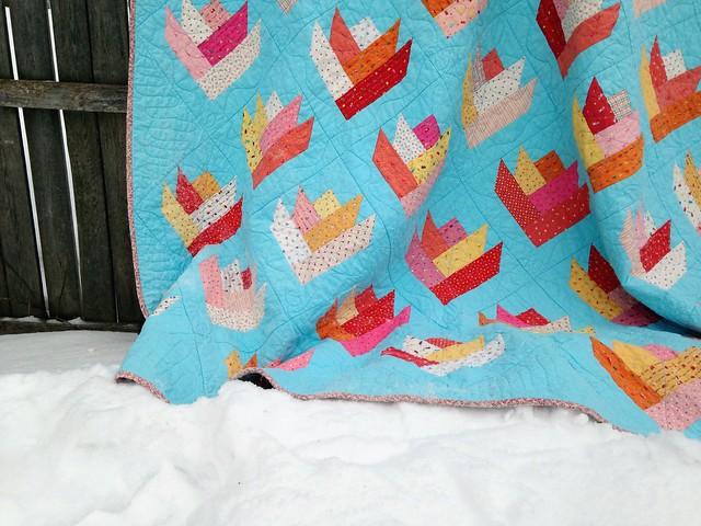 eventual tulips quilt