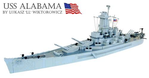 USS Alabama by 'LL'