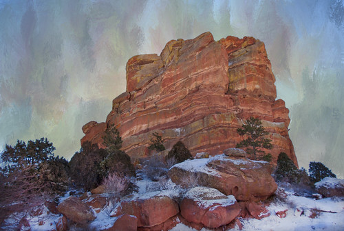 trees winter usa mountain snow cold texture nature rock stone landscape outdoors photography colorado scenic environmental denver wilderness monolith shining coloradorockies redsandstone jeffersoncounty redrockspark magicunicornverybest