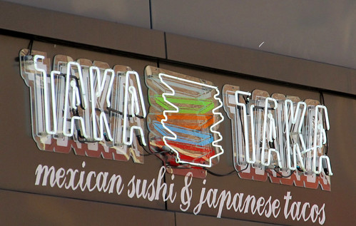 Taka Taka mexican sushi & japanese tacos in SoHo, NYC