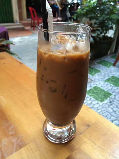 Iced Vietnamese coffee - Pink Tulip Hotel