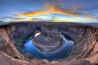 Horseshoe Bend Sunset (HDR)