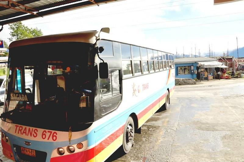 Bus going to Sagada