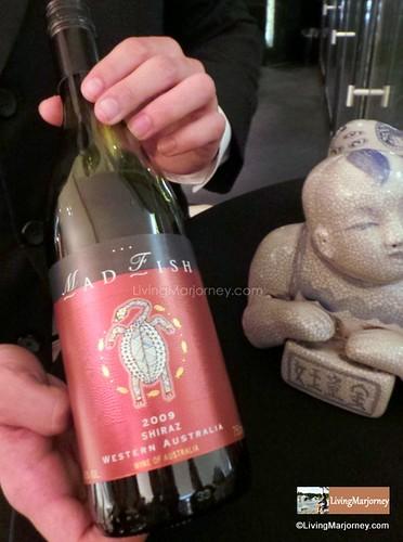 Madfish Shiraz Wine at SPIRAL