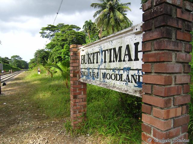 KTM Railway Track - Bukit Timah Railway Station 03