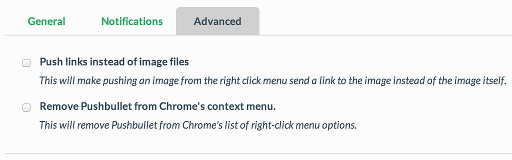 Chrome Advanced