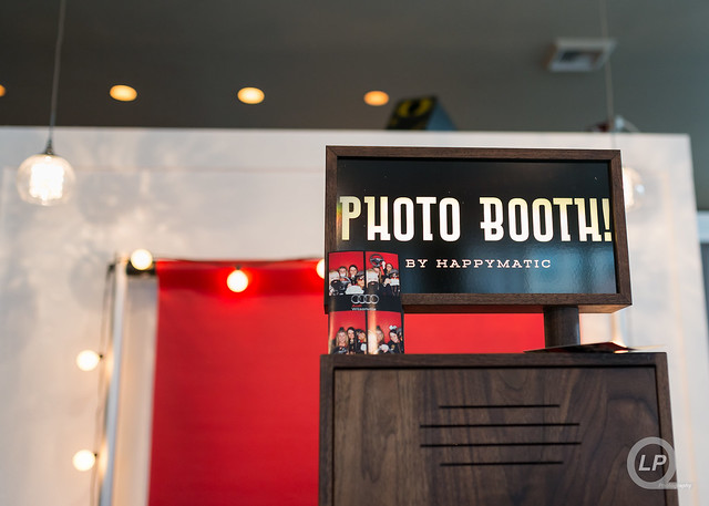 Happymatic Photo Booth at Audi Wilsonville's #AudiA3 Event