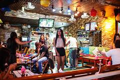 Night bar scene - Pattaya, Thailand