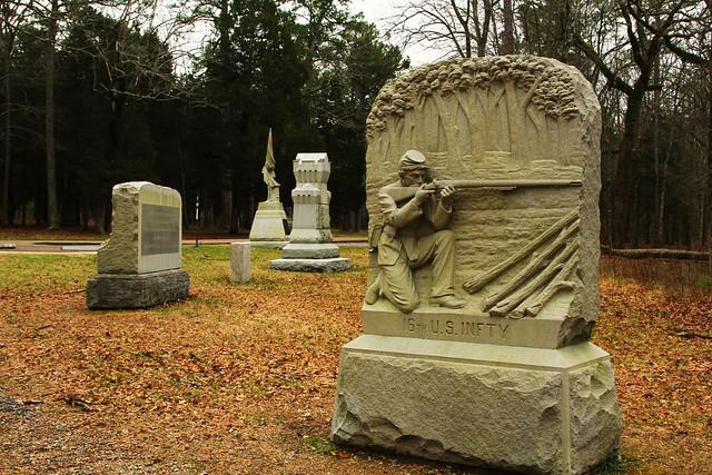 Chickamauga Monuments