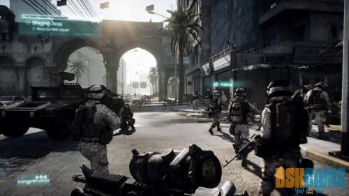 Battlefield 3 en combate