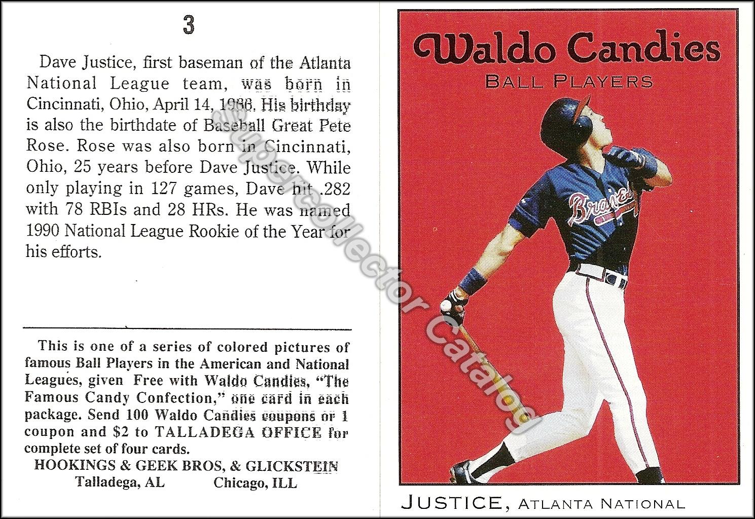 1991 Waldo Candies