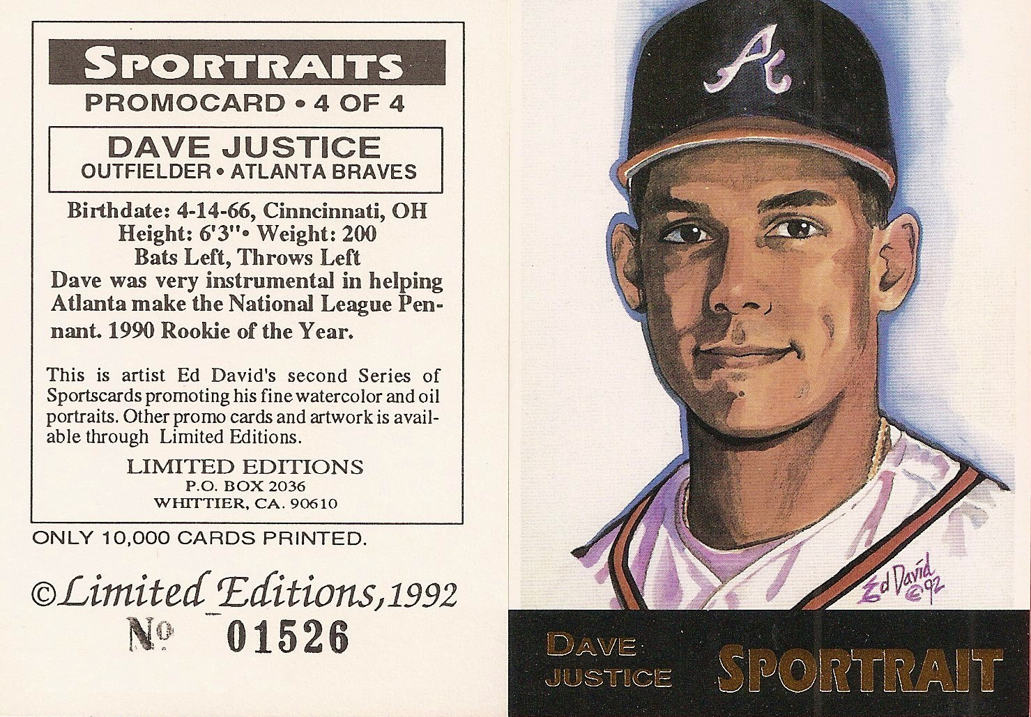 1992 Ed David Sportraits