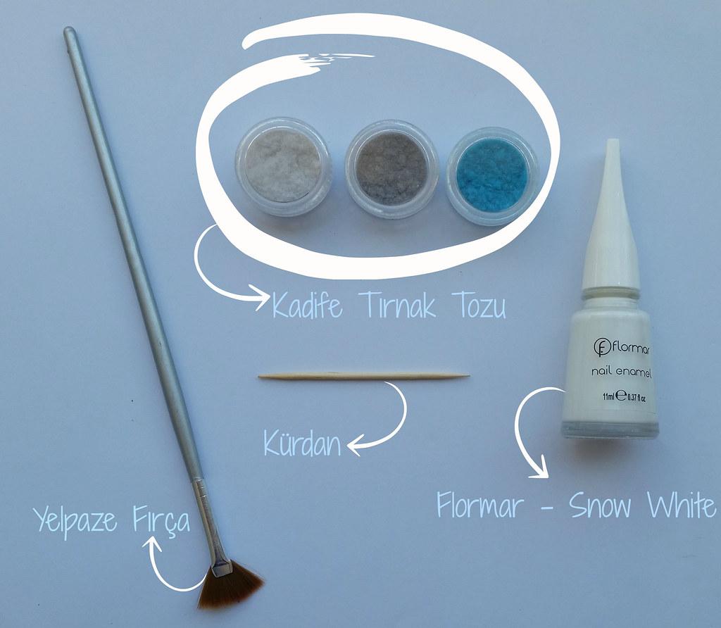 Velvet Marble Nail Art