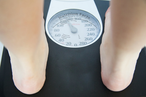 Standing on a Scale - Scale - Weighing Yourself