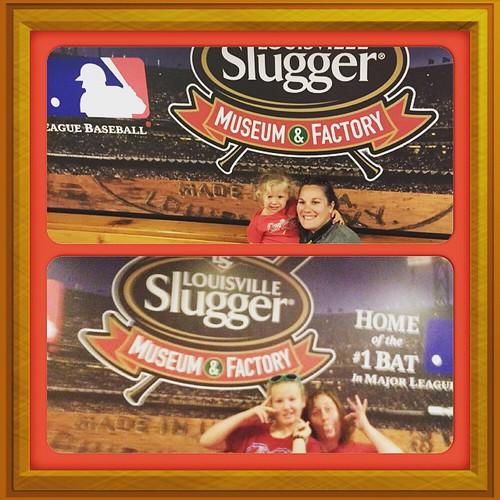 #Louisville Slugger Tour!