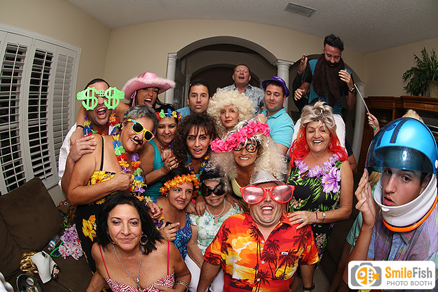 birthday party photo booth rental | saint augustine, jacksonville, orange park, ponte vedra, mandarin