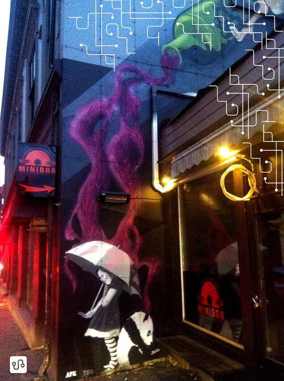 Arte de rua em Bergen