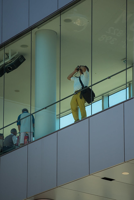 Photographer at Harukas 300 Observatory (ハルカス300 展望台)