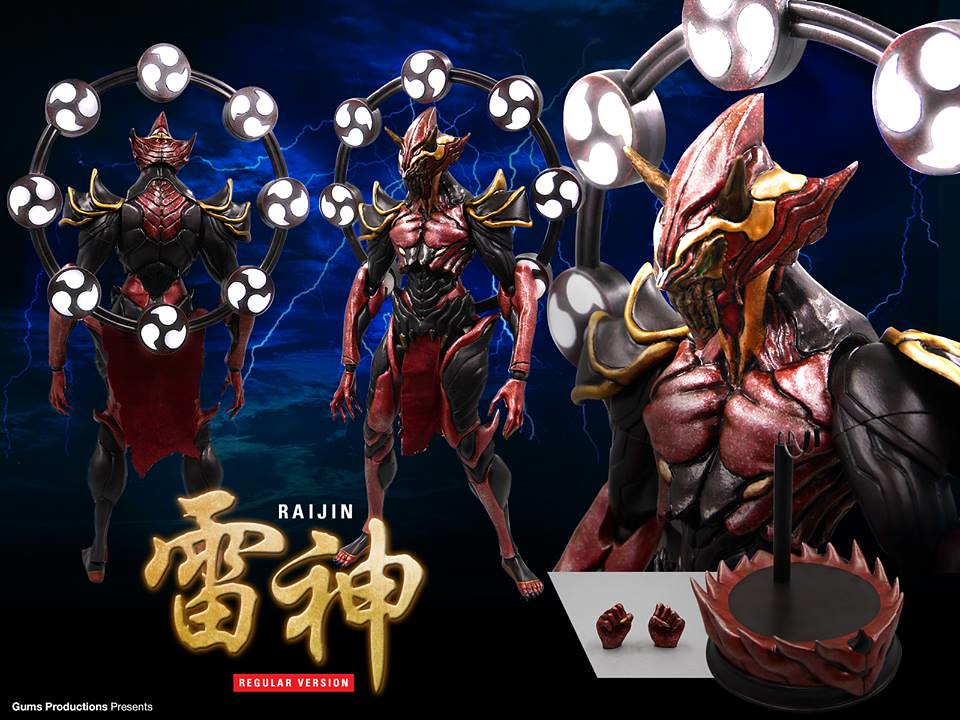 Gums Productions × Khem Pavee【雷神。官網版】Regular Raijin 1/6 比例人偶作品