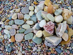 Stone sculpture Spey Bay