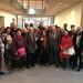 Achim Barchmann empängt große Gruppe der GEW-Senioren in Berlin