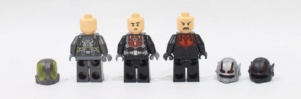Antman various sizes.