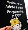The Pivotal Sandbox buckethead is already starting to make the rounds. First stop learning about Adobe XD. #buckethead #bucketheadSXSW #pivotalsandbox #adobe #adobexd #sxsw #sxsw2017
