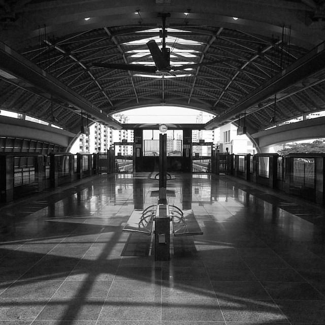 Station  #Singapore #architecture #interior #blackandwhitephotography #streetphoto #bnw #silhouette #travel #sg #landscape #streetphotography #railway #travelporn #travelphoto #lifestyle