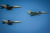 Victory Day 2013 - F-7s & Kfir by Nazly