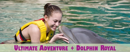 Hidden Worlds Combo: Ultimate Adventure Package + Dolphin Royal by Dolphin Discovery