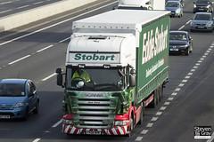 Scania R420 4x2 Tractor - PX08 BHW - Jana Anna - Eddie Stobart - M1 J10 Luton - Steven Gray - IMG_3339