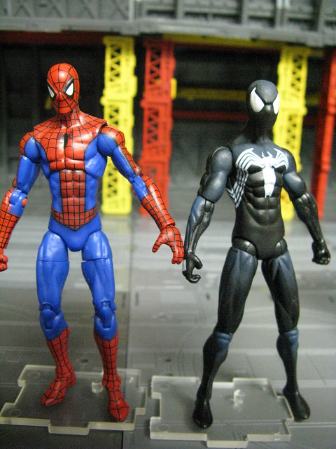 MU vs. Spider-Man line