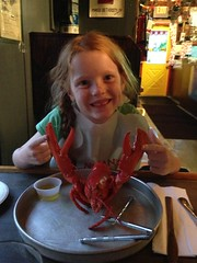 Lobstahs for dinner in Kennebunkport, Maine! by PrincessKaryn