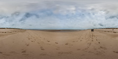 Holkham Beach Panorama