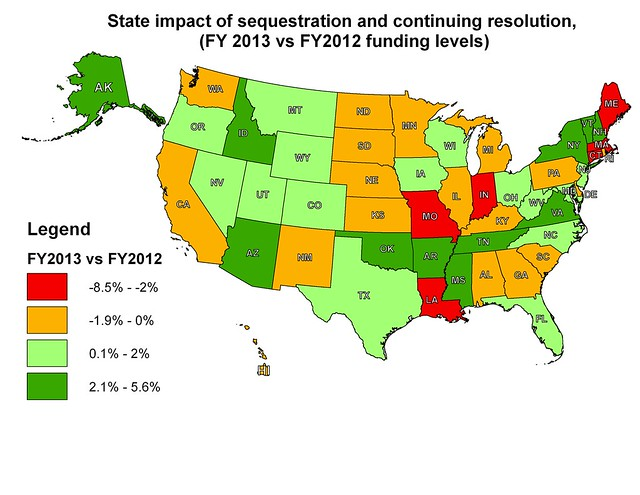 Map ofSequesterandCR2013