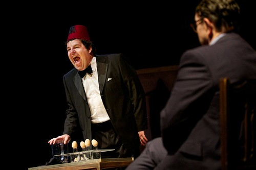 Being Tommy Cooper. Damien Williams in the title role. © Graeme Braidwood photography.
