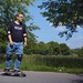 Me on my cruiser by flundevall
