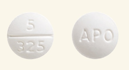 price of oxycodone 5 325