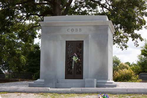 Ty Cobb Mausoleum