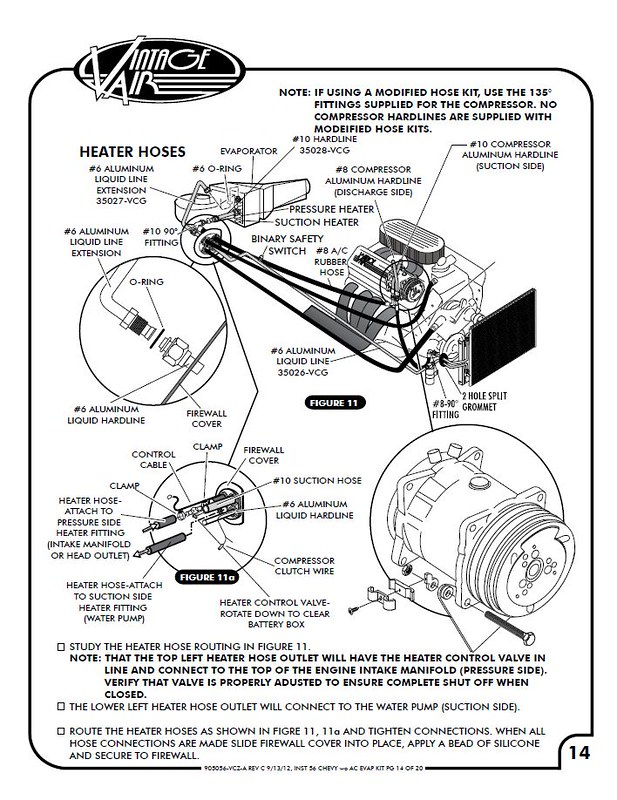 chevy wiring   1956 chevy heater hose diagram