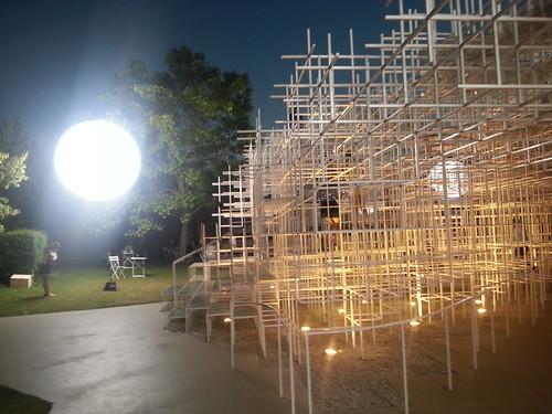 serpentine pavillion Sou Fujimoto 2013