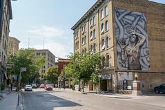Exchange District in Winnipeg