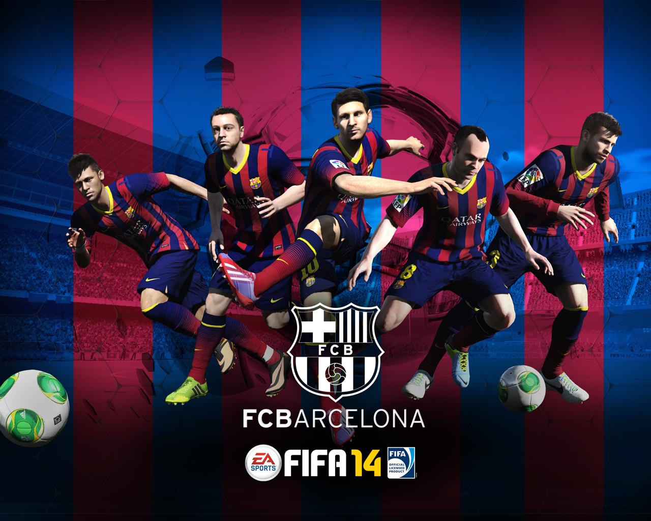 Fonds d'écran FC Barcelone