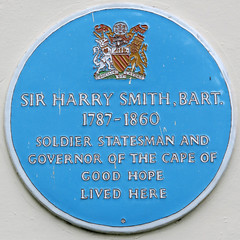 Photo of Harry Smith blue plaque